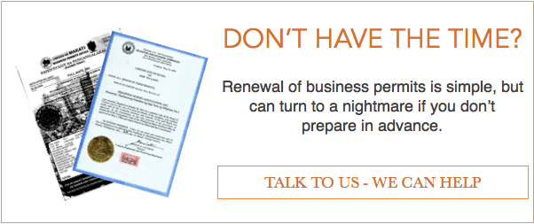 Renew your business permits