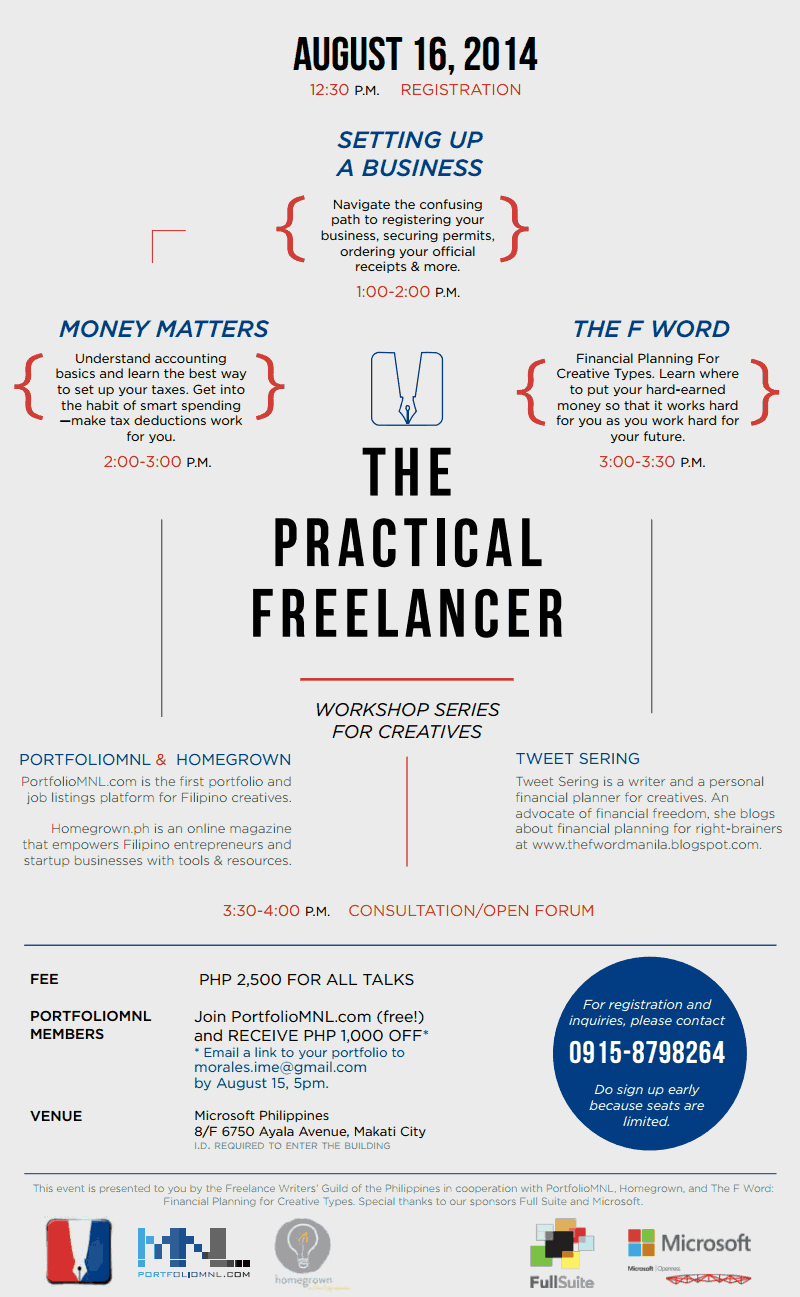 The Practical Freelancer - Going Pro 2014