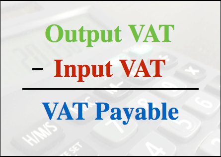 Input and Output Tax
