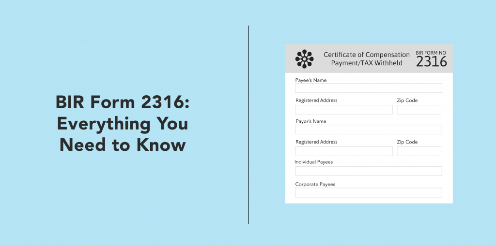Bir Form 2316 Everything You Need To Know Full Suite