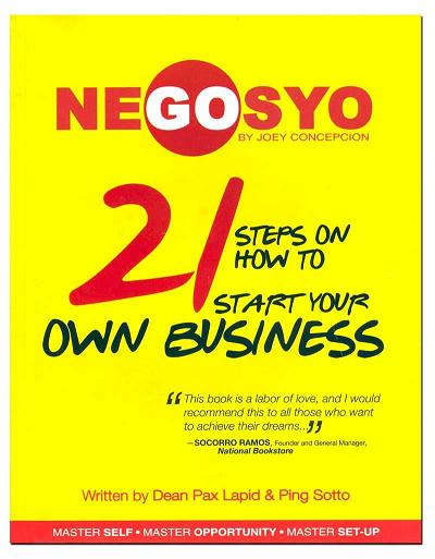 Go Negosyo - 21 Steps on How to Start Your Own Business