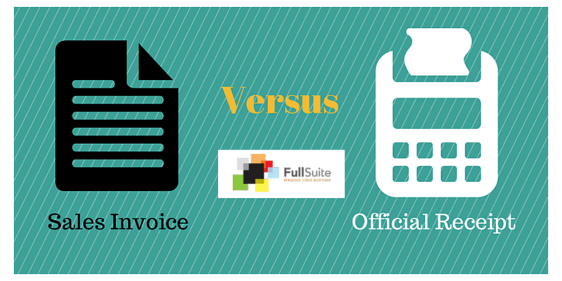 know the difference invoice vs receipt full suite