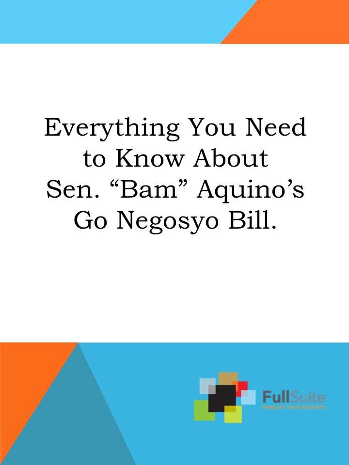 Go Negosyo Act 2013