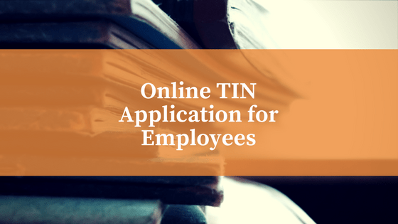 bir online tin application for employees full suite