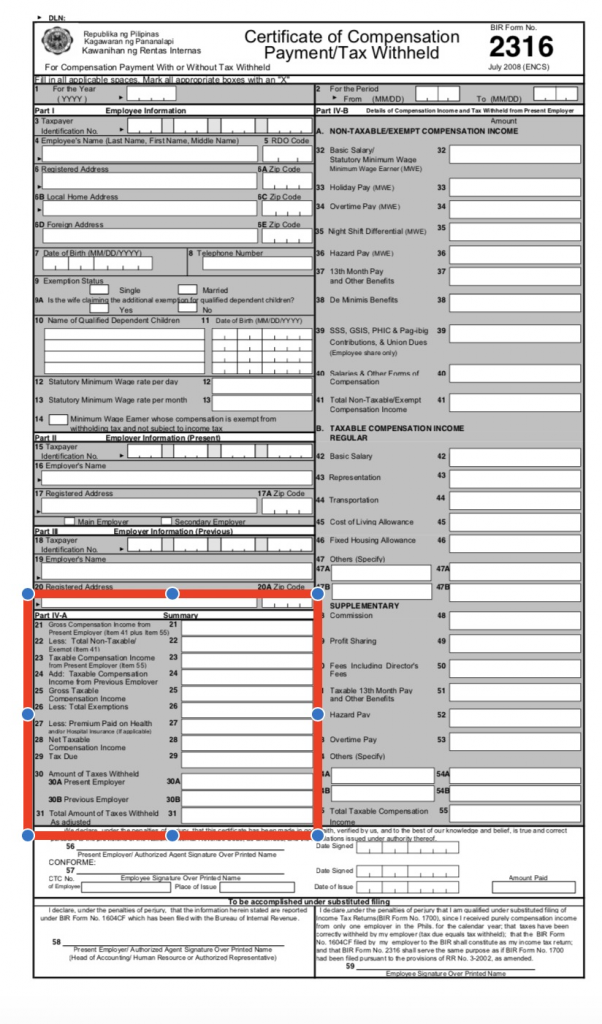 Ultimate Guide on How to Fill Out BIR Form 2316 - FullSuite